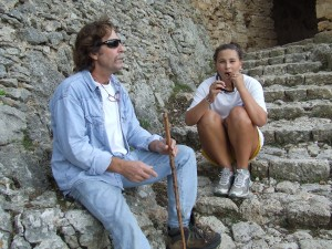 Oct 23, Rafa and Hannah-Hiking from Alaro