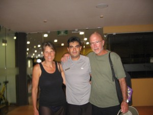 Nov 20: Spinning class with Adrian