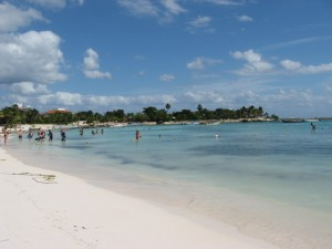 Nov 26: The beach at Akumal