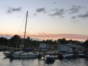 February 1: A glimpse of San Pedro, Belize