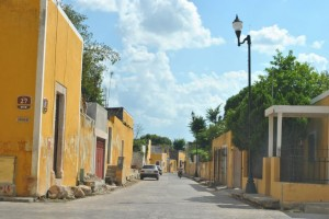 February 22: The yellow town of Izamal.