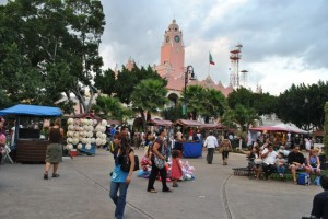 February 21: The market stalls in Merida.