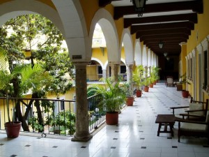 February 21: Hotel Caribe in Merida