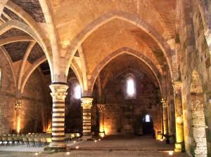 April 23: Inside Castello Maniace
