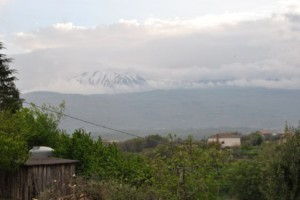 "April 16: An ""almost view"" of Mount Etna."