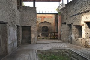 April 11: Ruins in Pompei