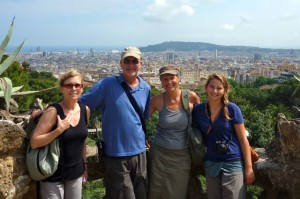 June 2: At Guell Park