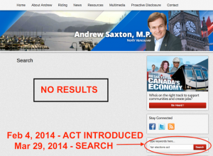 Saxton web search